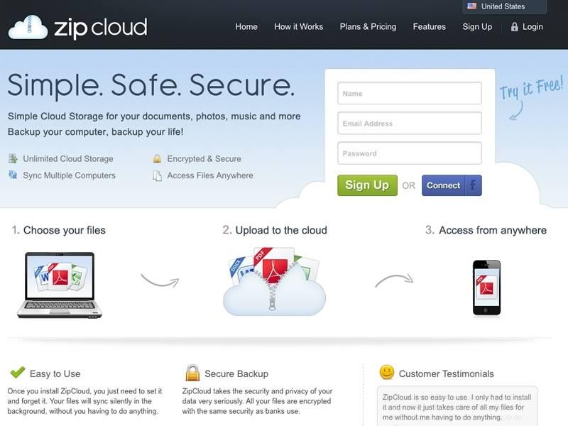 ZipCloud Cloud Storage Review | Expert Reviews & Ratings